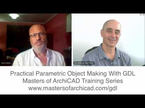 Masters of ArchiCAD - NEW GDL Online Training Course with Gary Lawes