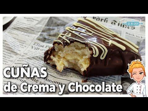 ? Esto está... ¡QUE TE MUERES DE BUENO! ?Cuñas de Crema y Chocolate ? en Cecotec Twist&Fusion ?