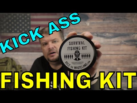 Survival Fishing Kit - Rule The Wasteland Dot Com