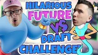 WHO CAN PREDICT THE FUTURE DRAFT REALLY GETS OUT OF HAND!! Madden 18 Draft VS TDBarrett