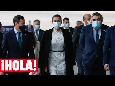 Doña Letizia, sobre la cuarentena del Rey: 'Está bien. Le he dado mucha envidia'