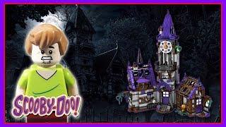 Brinquedo Scooby-Doo Mansão Misteriosa | Lego Scooby Doo Stop Motion Animation