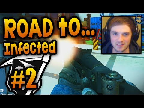 """I'M ALL ALONE!"" - Road To - KEM Infected #2 LIVE W/ Ali-A! - (Call Of Duty: Ghost Gameplay) - Smashpipe Games"