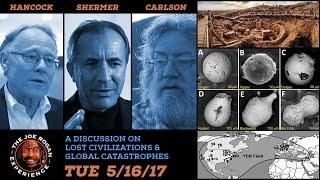 The Great Debate - Joe Rogan, Graham Hancock, Randall Carlson & Michael Shermer - JRE #961