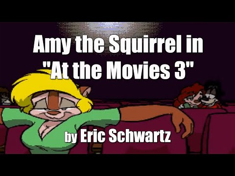 "AMIGA Animation: Amy the Squirrel in ""At the Movies 3"" by Eric Schwartz FHD"