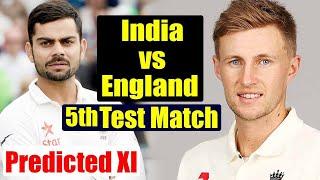 India Vs England 5th Test: Virat Kohli's India Predicted Playing XI for Oval Test|वनइंडिया हिंदी