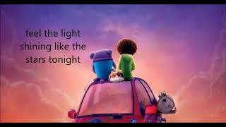 Feel The Light - Jennifer lopez - dreamworks Home (Lyrics)