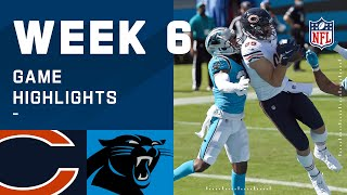 Bears vs. Panthers Week 6 Highlights | NFL 2020