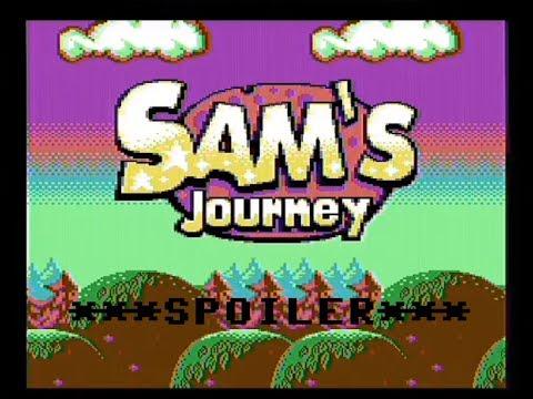 Sam´s Journey Final, Commodore 64 - Real por S-video