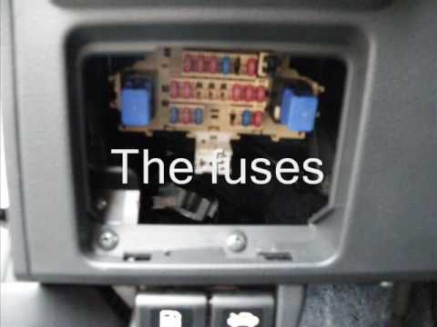 week 14: where are the fuses in my nissan versa? - youtube nissan versa fuse box 2007 nissan versa fuse box #7