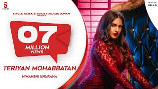 Teriyan Mohabbatan Himanshi Khurana Ft Johny Vick Video HD
