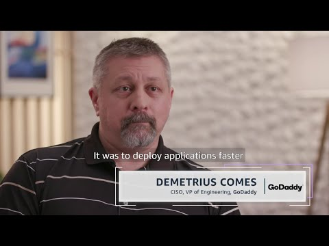 GoDaddy Partners with AWS Professional Services to Accelerate Application Onboarding