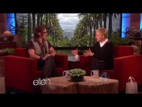 Johnny Depp on The Ellen DeGeneres Show - FULL INTERVIEW (2012/05/08)