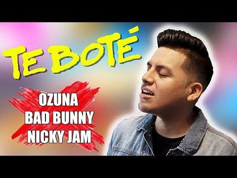 Te Bote Remix - Bad Bunny, Ozuna, Nicky Jam (Letra Lyrics Ingles English) | Conor Maynard x Anth