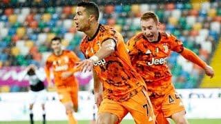 Ronaldo scores double in comeback [udines 1-2 juventus]🔥⚡️⚡️🔥🔥