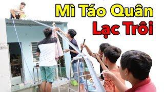 Lâm Vlog - Làm Mì Trôi Ống Nước | Làm Mì Xào Táo Quân Lạc Trôi