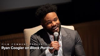 Ryan Coogler | Black Panther Q&A | Presented by Film Comment
