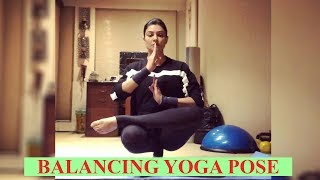 Watch: Sushmita Sen nails the 'balancing yoga pose challen..