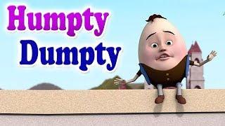 Humpty Dumpty Nursery Rhyme   Animation   English Rhymes for children