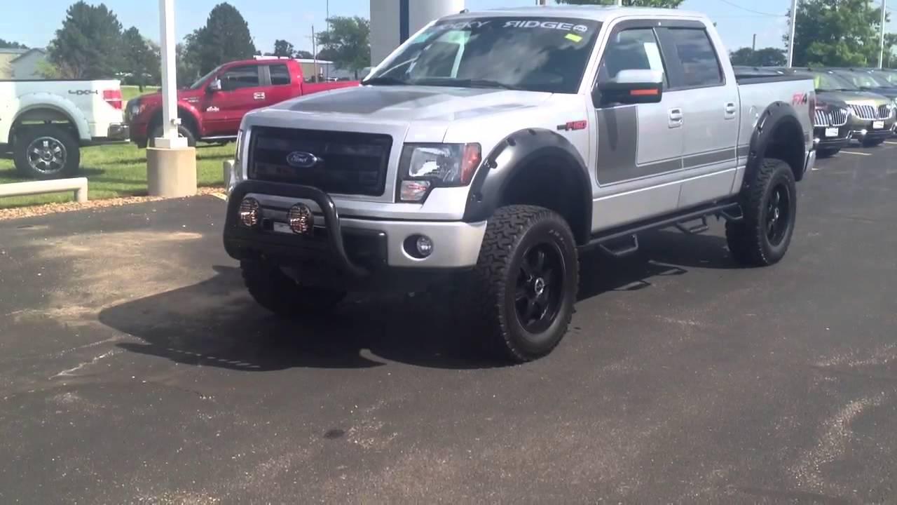 Long Mcarthur Ford >> 2013 Ford F-150-Rocky Ridge Truck Phantom Edition-In Depth ...