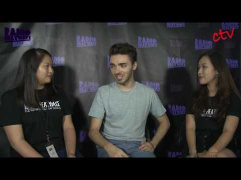 Campus Invasion: Nathan Sykes Interview | Radio Heatwave