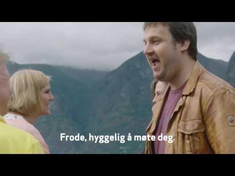Familen Skjerdal/Bekkestad får besøk av det tyske paret Ludwig og Agnes.
