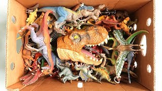 100++ Dinosaur Toys ! Jurassic World2 T-Rex Toy Box for Kids~ Learn Dinosaurs