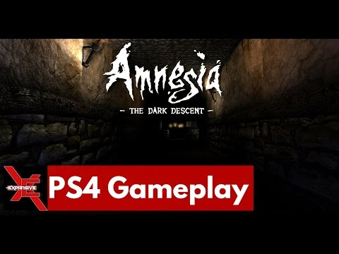 Ray Plays Amnesia The Dark Descent - 10 minutes of PS4 footage l Expansive