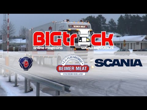 With Beimer Meat to Sweden