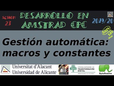 Gestión automática con macros y constantes [ASM Z80]