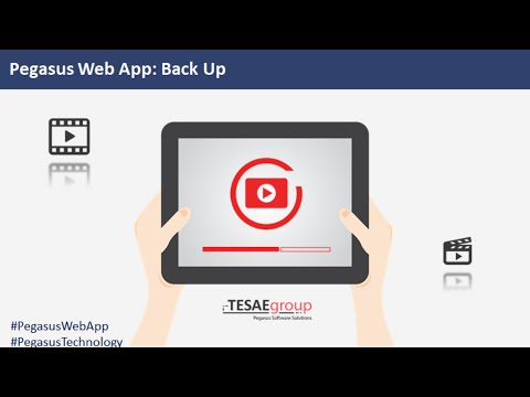Back Up - Pegasus Web App Module