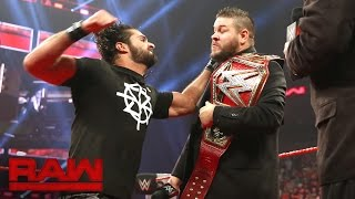 Seth Rollins interrupts Kevin Owens' WWE Universal Championship Coronation: Raw, Sept. 5, 2016