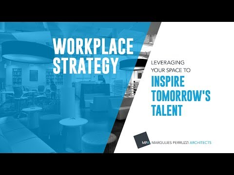 Margulies Perruzzi Architects (MPA) released a series of videos aimed at helping businesses utilize their workplace as a tool to become more successful. The five-part video series outlines the business and workplace transformation drivers that help create a productive and inspiring workplace, now and for the future. MPA's video series and research is available online at: https://mp-architects.com/wps.