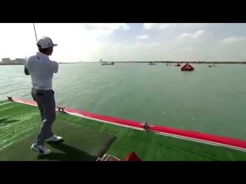 ALBUS GOLF (video 17) The Yas Island Mangrove Challenge with ECOBIOBALL