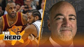 Bill Plaschke on reports Kawhi wants out of San Antonio to join LeBron on Lakers | NBA | THE HERD