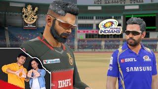 Playing IPL in Cricket 19 Part 2 | RCB v MI | SlayyPop