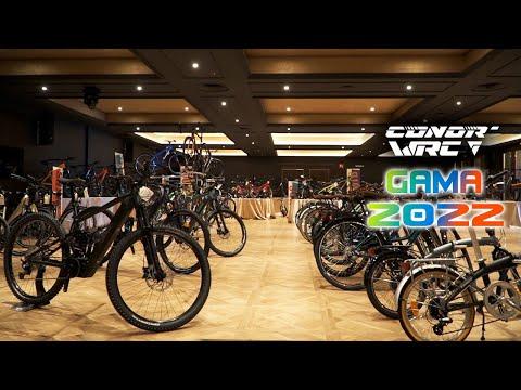 Presentación  de la gama de bicicletas Conor 2022 al completo
