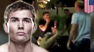 UFC fighter Cody Gibson aka The Renegade gets in Las Vegas bar fight