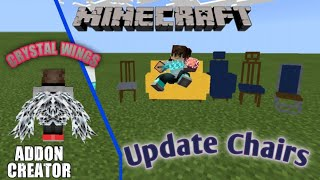 Minecraft Pocket Edition    Add-On Chairs Update+Crystal Wings