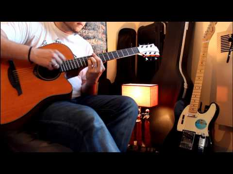 Daft Punk - Get Lucky guitar cover - Touns le Caldoche