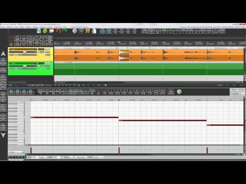 Tuto Reaper 4 - Travailler une boucle de batterie (et accorder à la ligne de basse)