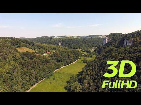 [3D] Bedkowska Valley / Dolina Będkowska, Będkowice, Poland / Polska