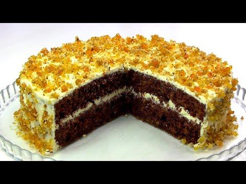 Торт «Янтарный»/Шикарный Простой и НЕдорогой