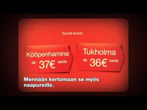 Norwegian TV-mainos / KÖÖPENHAMINA