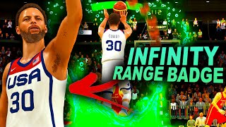 OLYMPIC 999 OVERALL STEPHEN CURRY Hits FULL COURT THREES FOR TEAM USA!? INFINITY RANGE BADGE!!