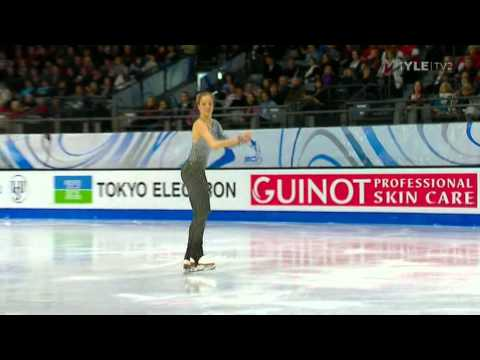 Carolina Kostner - ISU Grand Prix GP 2011 - Quebec City Canada - Free Program