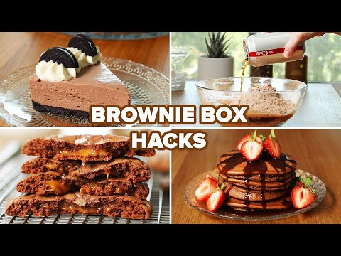 I Tried 4 Different Brownie Box Hacks ? Tasty