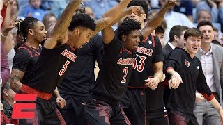 Louisville hands North Carolina worst home loss since 2002 | College Basketball Highlights