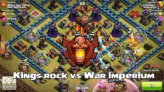 Clash of clans - Kings rock vs War imperium (clan wars)