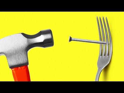 30 LIFE HACKS WITH CUTLERY